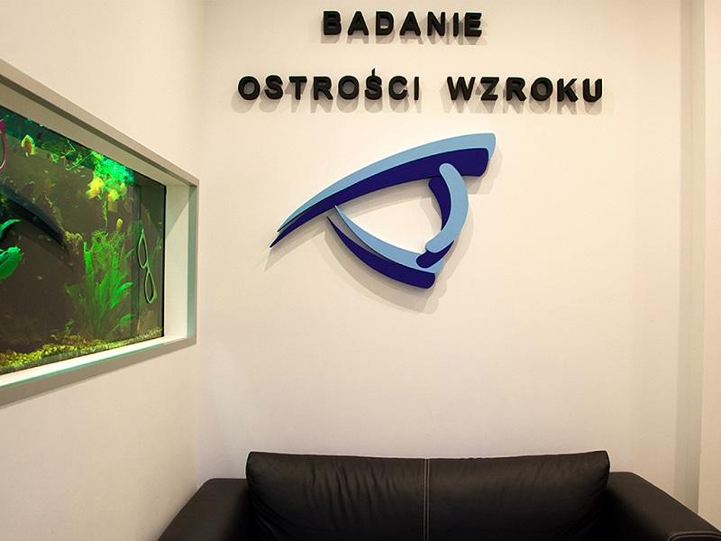 Badanie ostrości wzroku gabinet